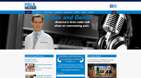 Doctor Paul Christo Aches and Gains